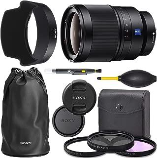 Sony Distagon T FE 35mm f/1.4 ZA Lens (SEL35F14Z) Full Frame + AOM Pro Starter Bundle Kit - International Version (1 Year AOM Warranty)