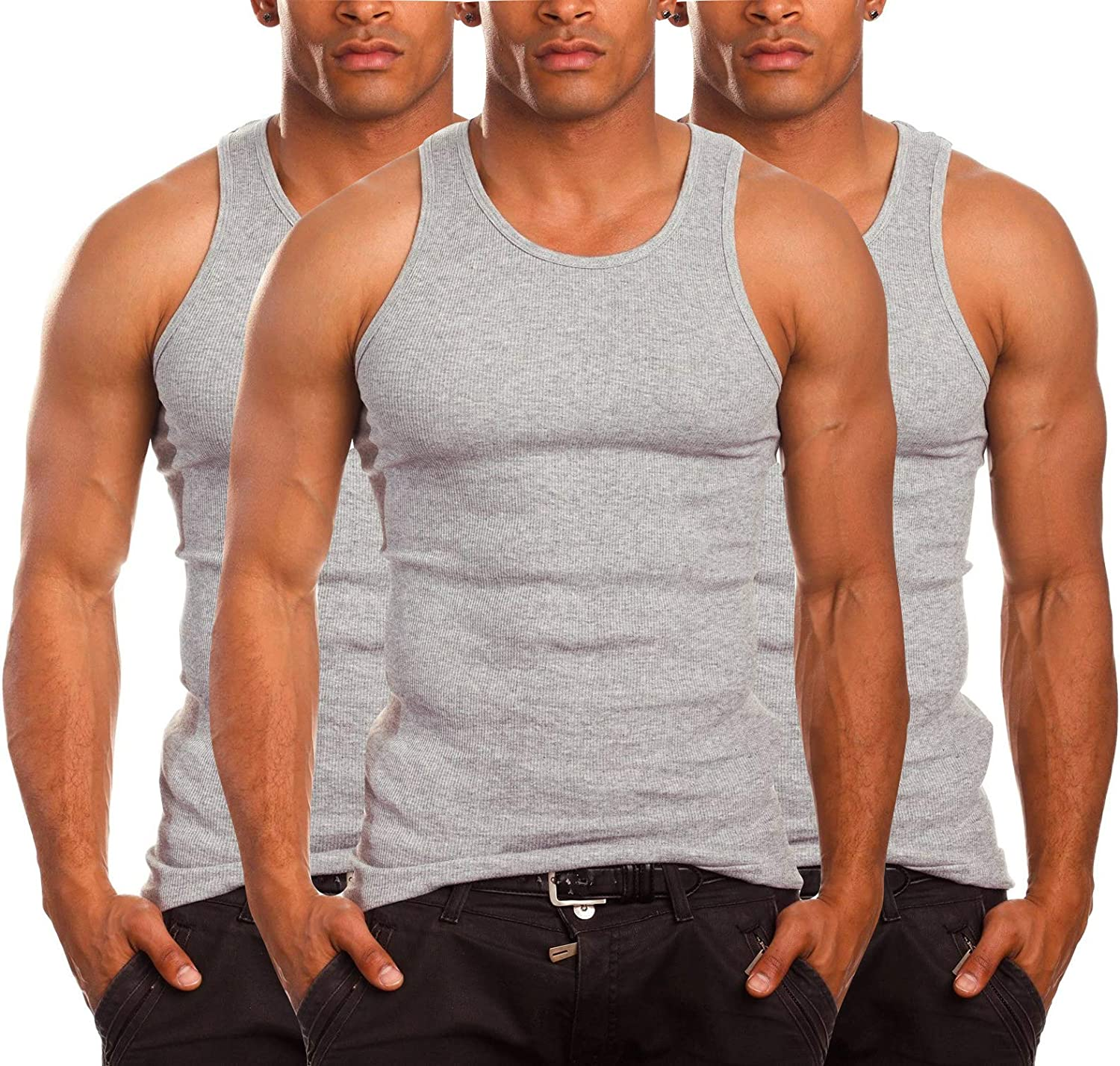 ToBeInStyle Men's A-Shirt Rare Tank Muscle Top Direct store Shirt