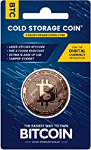 Cold Storage Coins Bitcoin Wallet | 1 Ounce 999 Fine Copper | Securely Store Bitcoin & Cryptocurrencies Offline