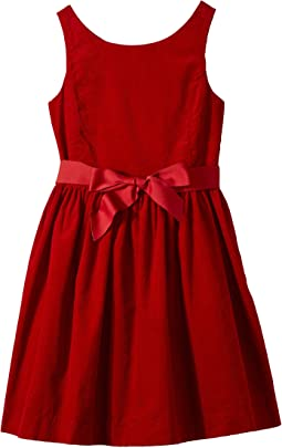 Polo Ralph Lauren Kids - Corduroy Fit-and-Flare Dress (Big Kids)