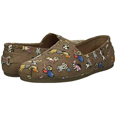 BOBS from SKECHERS BOBS Plush Go Fetch (Taupe) Women