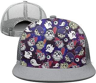 Cute Alpaca Llama and Triangle Green Snapback Ball Cap Top Level mesh Caps Curved Dad Men's Womens Hat
