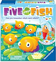 Ravensburger Five Little Fish Toddler Toy and Game for Boys and Girls Age 3 and Up - A Fun and Fast Game You Can Play Over and Over