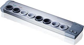 Oehlbach Powersocket 907 - hoogwaardige stekkerdoos van aluminium - overspanningsbeveiliging, USB-oplaadfunctie - mantelst...