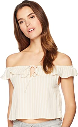 Peach Kisses Woven Top