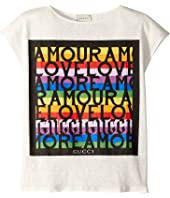 Gucci Kids - Amour T-Shirt (Little Kids/Big Kids)