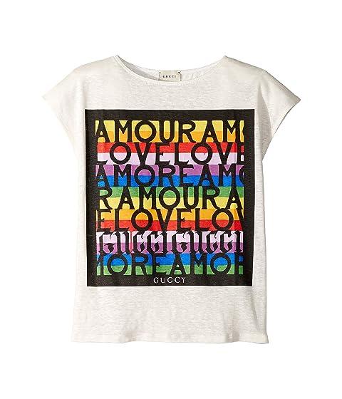 Gucci Kids Amour T-Shirt (Little Kids/Big Kids)