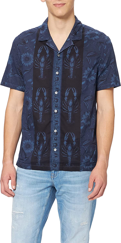 Desigual CAM_Pacifico Camisa Abotonada para Hombre