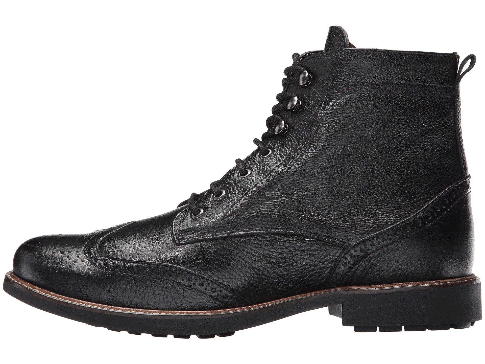 Boot Black Wing Matteo Perf Massimo qBOwUxtWg