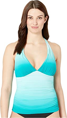 Halter Tankini w/ Molded Cup