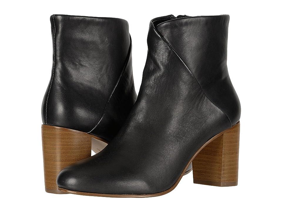 Soludos Mid Heel Venetian Bootie (Black) Women