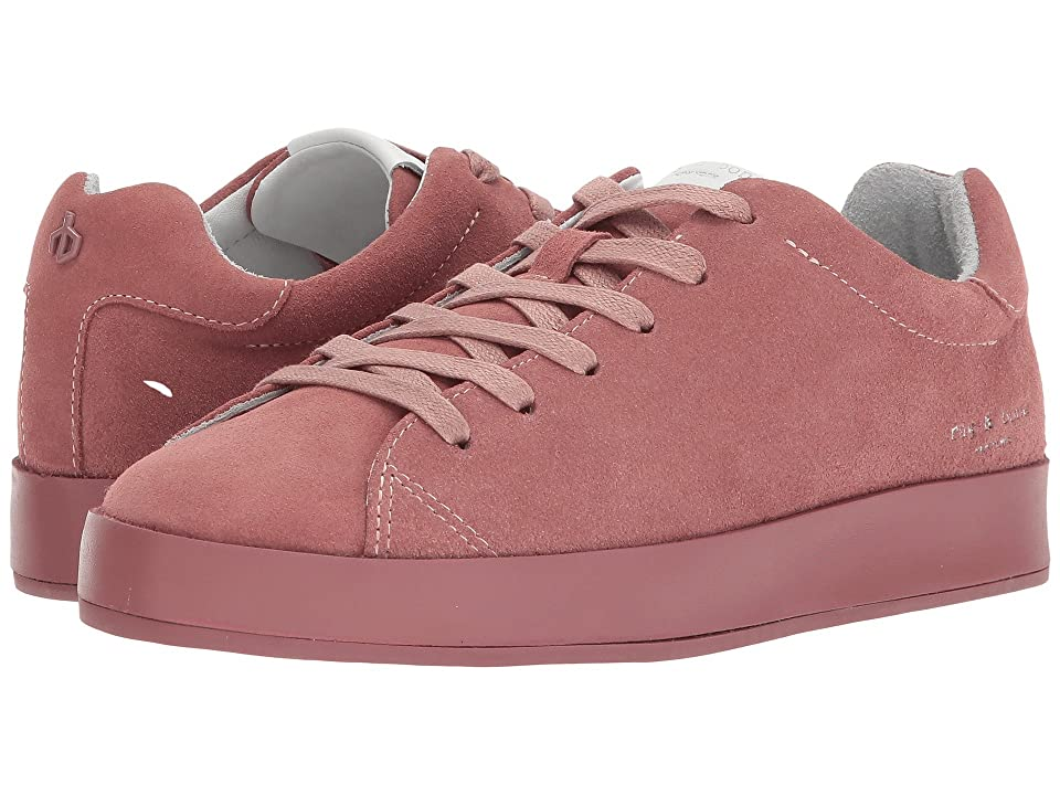 rag & bone RB1 Low (Mauve Suede) Women