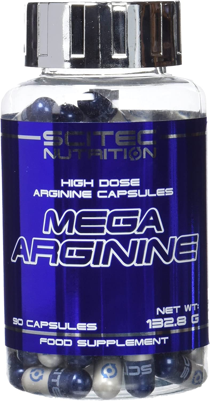 Mega Arginine 90 caps.