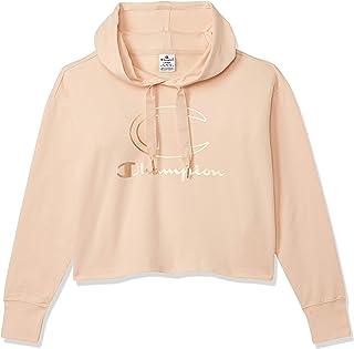 Champion 111280 PS103SPV Women's Hooded Sweatshirt, Large, Brown