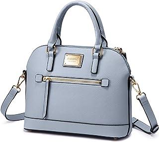 BestoU Handtasche Damen Shopper Handtaschen Schwarze Gro/ß Damen Tasche f/ür B/üro Schule Einkauf mit Pelz Kugel Pl/üsch Schl/üsselring Blau