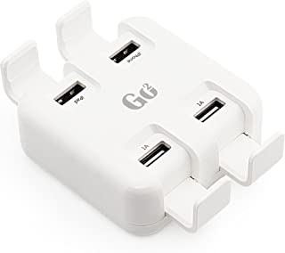 SAFEMORE Go2 International Travel Charger for All iPhone, iPad, Samsung, Huawei and Cameras, Game Consoles