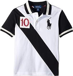 Cotton Mesh Polo Shirt (Toddler)