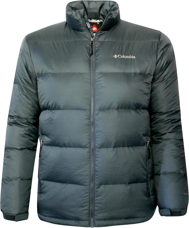 Columbia New York Mall Men's Down Ski Snowboard Omni Jacket Grey Winter OFFicial shop Heat