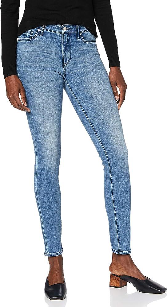 Armani exchange push-up, jeans denim per donna, 100 % cotone 6HYJ69Y4RDZ1500A
