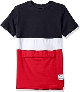 Southpole Boys' Big Colorblock Short Sleeve Fashion Tee (Age 8-20)