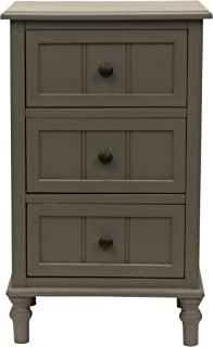Décor Therapy Accent Table, Eased edge Grey