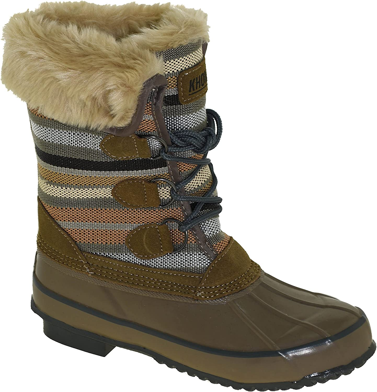 Khombu Women's Solis Winter Boot Fossil