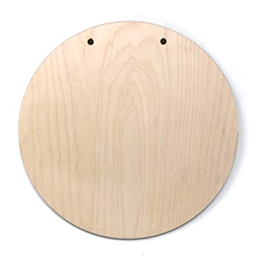 Gocutouts Wooden Circle Sign Blank Cutouts #1 (3 Pack)