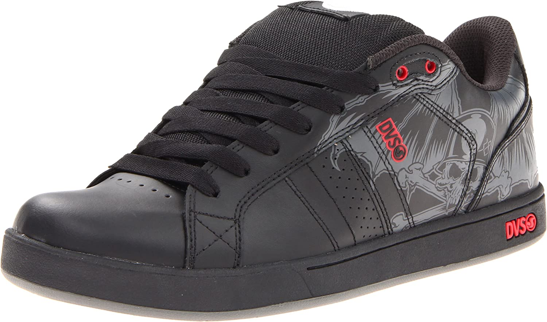 DVS Mens Charger Black Leather - Footwear  Men's Footwear  Men's Lifestyle shoes
