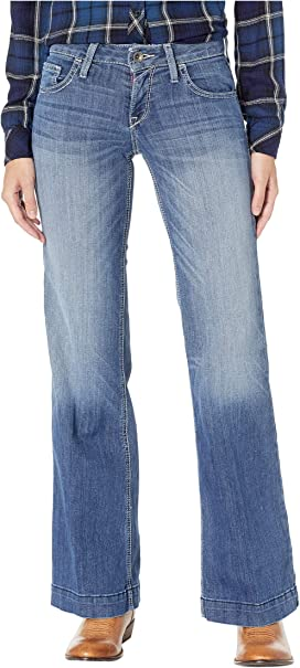 5d93b4231706 Ariat Trouser Ella Jeans in Bluebell at Zappos.com