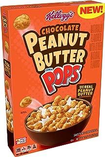 Kellogg's Corn Pops, Breakfast Cereal, Chocolate Peanut Butter, 10.5oz Box