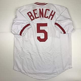 johnny bench jersey replica