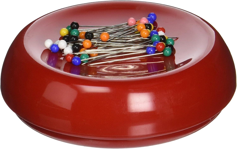 Lemoning Sewing for/Magnetic Pin Cushion Sewing Storage Wrist Clip Screw Knitting Magnet Needle Box