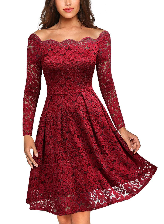 Red Dress - Women's Classic Cap Sleeve Wrap Dress