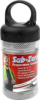 ProActive Sports Sub Zero 2.0 蒸发冷却运动毛巾 101.6 厘米 x 30.48 厘米 登山扣存放管
