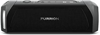 Furrion LIT Portable Wireless Bluetooth Speaker, Waterproof IPX7, Stereo Pairing, Indoor/Outdoor with 15 Hours Playtime (Black)