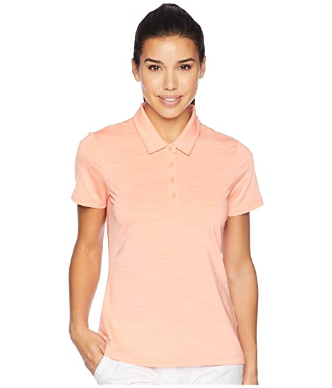 ADIDAS GOLF Ultimate Short Sleeve Polo, Chalk Coral