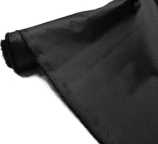 Tela impermeable Ripstop de 107,7 g para tienda de campaña al aire libre o cometa. De A-Express., negro, 1 Metre (100cm x 150cm)