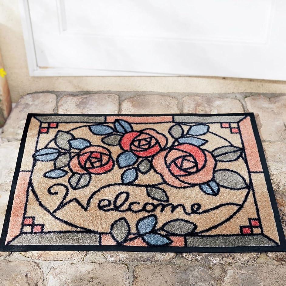 勢い明らかに手当[ベルメゾン] 泥落とし屋外玄関マット サイズ(cm):約59×90