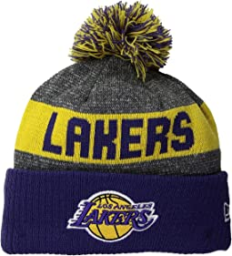 New Era - NE16 Sport Knit Los Angeles Lakers