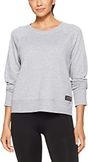 Calvin Klein Women's Crew Pullover with Gel Patch