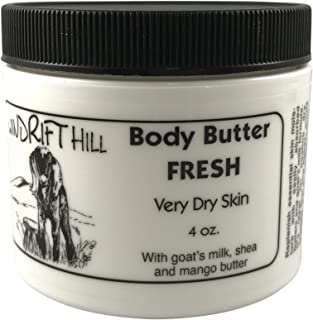 Windrift Hill Body Butter for Very Dry Skin (Fresh (lily and grapefruit))