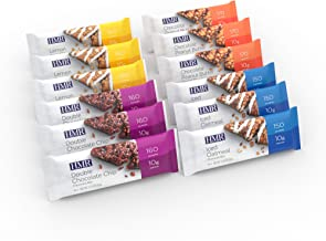 HMR Bars, 6 of each flavored Chocolate Peanut Butter Bars, Double Chocolate Chip Bars, Iced Oatmeal Bars, Lemon Bars, 10g ...