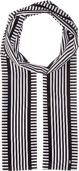 MICHAEL Michael Kors - Corsican Stripe Long Skinny Scarf