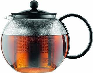 Bodum 1805-01US Assam Tea Press with Stainless Steel Filter, 34-Ounce Black