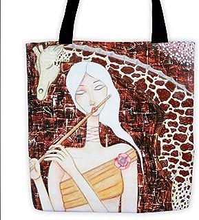 Shoulder Tote Bag  The Musician  15