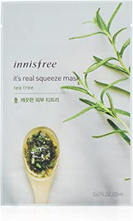 Innisfree It's Real Squeeze Mask Sheet, Tea Tree, 1 Ounce