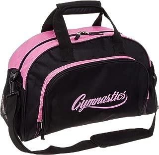LISH Gemma Gymnastics Duffel Bag - Girl's Travel Sports Gym Bag w/Shoe Compartment
