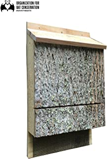 OBC Endorsed Triple Chamber Bat House Approved by The Organization for Bat Conservation