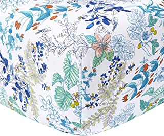 Yves Delorme - Flora Multi King Fitted Sheet - Luxury Fitted Sheet from France.