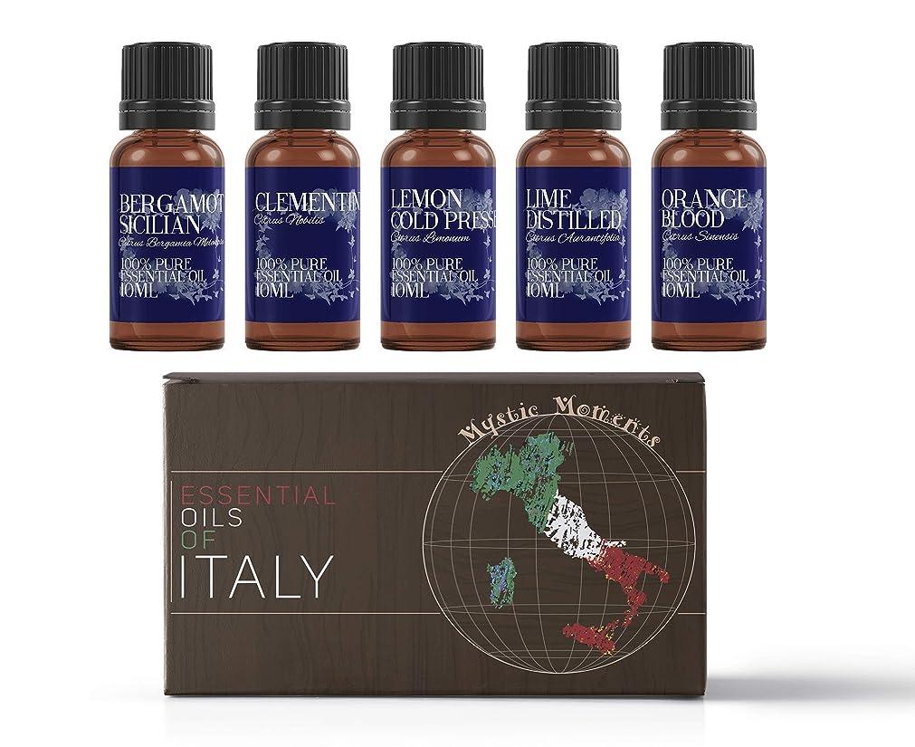 構築する扇動レジデンスMystic Moments | Gift Starter Pack of 5 x 10ml - Essential Oils Of Italy
